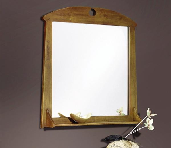 espejo para entrada mod toscana entrada espejo con estante x cm nogal oscuro ptina disponible en otros acabados