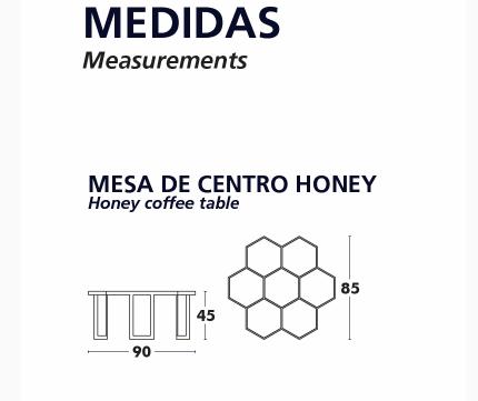 MESAS CENTRO HONEY MEDIDAS
